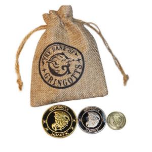 Pack monedas Gringotts Harry Potter