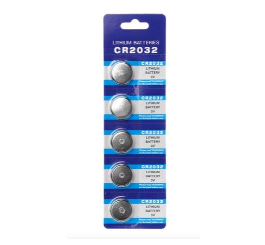 Pilas botón CR2032