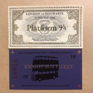 Tickets Harry Potter