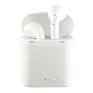 Auricular inalámbrico Bluetooth blanco
