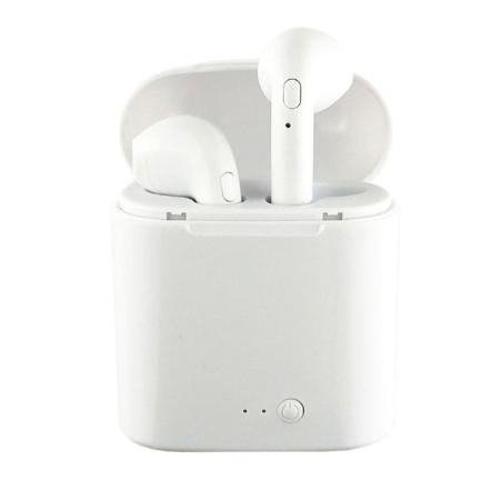 Auricular inalámbrico Bluetooth blanco