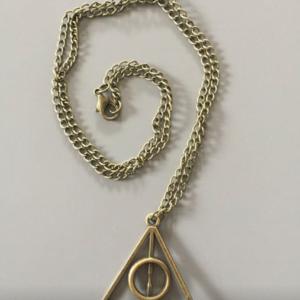Colgante Las reliquias de la Muerte Harry Potter